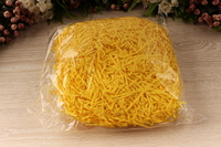 Соломка бумажная (желтый), упак. 100 гр