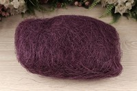 Сизалевое волокно (фиолетовый), упак. 100 гр