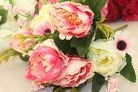 Цветы букет 30см (бутон 4,5-7см), упак 1шт
