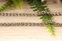 Декоративная цепочка, (серебро) 4мм* 3 метра.