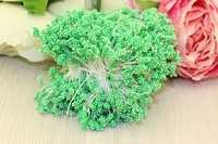 Тычинки (светло-зеленый), 4х6мм ,в одной связке 800 шт(нитей), упак 1шт