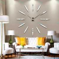 Часы настенные кварц (цв.серебро) , упак.1шт